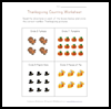 Thanksgiving   Counting Worksheets  : Free Thanksgiving Printable Worksheets
