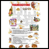 Thanksgiving   Crosswords  : Free Thanksgiving Printable Worksheets