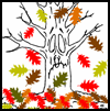 Autumn   Trees  : Thanksgiving Printables for Kids