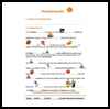 Thanksgiving   Days  : Free Thanksgiving Printable Worksheets