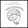 Color   by Numbers: Thanksgiving  : Thanksgiving Printables for Kids