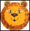 Easy Paper Plate Lion Crat for Preschoolers & Kindergarteners