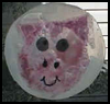 Suncatcher Pig Crafts Ideas for Children