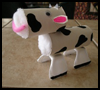 TP Toilet Paper Roll Cow Craft for Kids