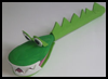 Wooden Spoon Crocodile Art and Crafts Project