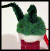 Grinch in Chimney Ornament Film Canister Crafts Instructions
