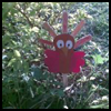 Turkey Plant Poke Garden Thanksgiving Crafts Activity for Kids