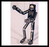 Skeleton Puppet Marionette Paper Model