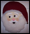 Santa   Wall Hangings  : Free Christmas Sewing Patterns Ideas for Children