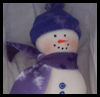 Simple   Fleece Snowman  : Free Christmas Sewing Patterns Ideas for Children