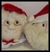 Soft   Sculpture Mrs. Santa Ornaments  : Free Christmas Sewing Patterns Ideas for Children