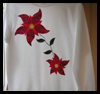Poinsettia   Sweatshirt Patterns  : Free Christmas Sewing Patterns Ideas for Children