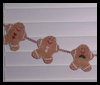 Gingerbread   Garlands  : Christmas Patterns for Kids
