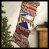 Christmas   Card Stockings  : Christmas Patterns for Kids
