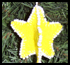 Sew   a 3D Star Christmas Tree Ornament