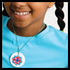 Kids'    Art Necklace