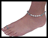 Toe   Ring and Matching Ankle Bracelet with Name