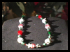 How   to Make a Holiday  Lampwork Necklace