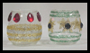 Glitter   Votive Cups for Christmas