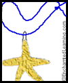 Glue   Starfish Craft/Necklace