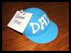 Dad   Baseball Cap Note Holder