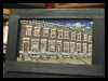 How   to Paint Miniature Screen Row Houses