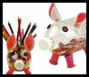 Pig   Crafts for Kids    : Crafts with  Wooden Spools