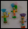 Kachina   Dolls   : Crafts with  Spools for Children