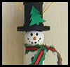 Clothespin   Snowmen  : Spool Crafts Ideas for Kids