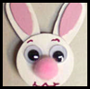 Easter   Bunny Pins  : Crafts Activities with Woodsies