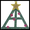 Craft   Stick Christmas Tree Ornaments  : Woodsies Crafts for Kids