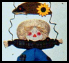Harvest   Time Scarecrows  : Crafts with Wooden Items