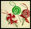 Candy   Ornaments  : Woodsies Crafts for Kids