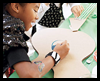 Birthday    Party Craft: Cardboard Guitar