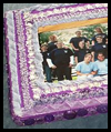 Purple    Wooden Frame