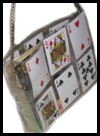 Clear    Duct Tape Card Purse
