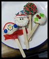 Fun   Winter Cookie Pops