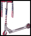 Patriotic   Scooter and Bike Decorations