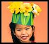 Fresh Flower Crown Craft for Kids
