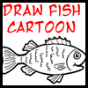 Fish Cartoon Drawing Lesson
