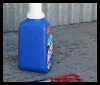 How   to make a scoop out of a laundry detergent bottle