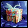 Make    a Fabric gift Boxes  : Paper Folding Gift Box Models