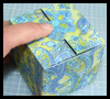 The    Jewelry Box Tutorials  : Printable Paper Gift Box Diagrams