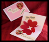 A   vibrant pop-up heart card for your sweetie on Valentine's Day