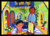 Dora's   Father's Day Pop-Up Card