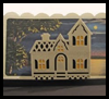 Accordion   Fold Victorian House Pop Up Card