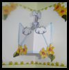 Messy   Rabbit Cd – Envelope Pop Out Card