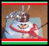 How   to Craft Cute Snowmen Christmas Ornaments from Burned Out Light Bulbs