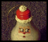 How   to Make a Santa Ornament from a Light Bulb