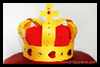 Medieval Crown to Make with Rhinestones